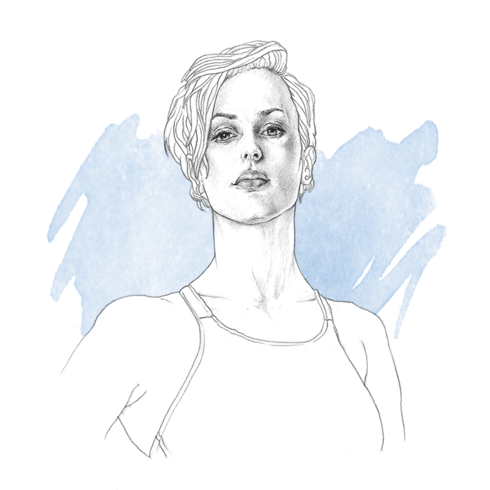 federica_pellegrini_illustration_epoca_sport_editorial_portrait_ilariazena