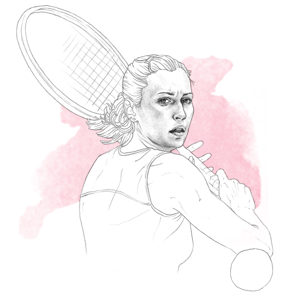 flavia_pennetta_illustration_epoca_sport_editorial_portrait_ilariazena