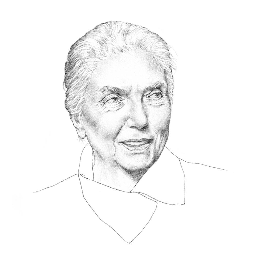 lalla_romano_illustration_portrait_fondazione_pini_ilariazena